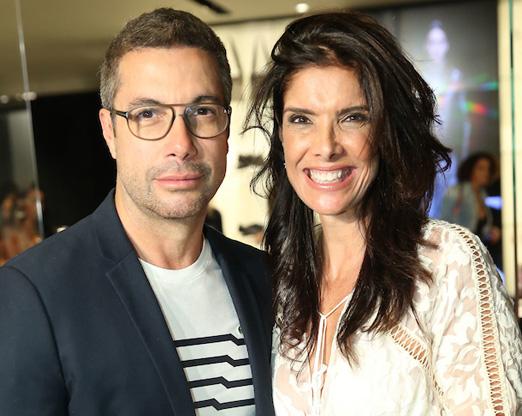 Fernando Torquatto e Patricia Brandão