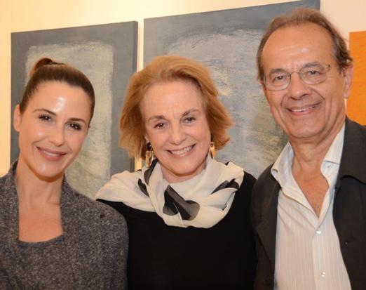 Guilhermina Guinle, Rosa Cordeiro Guerra e Jacques Leenhardt