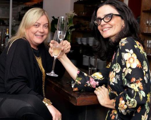Heloísa Tolipan e Belinha Almendra