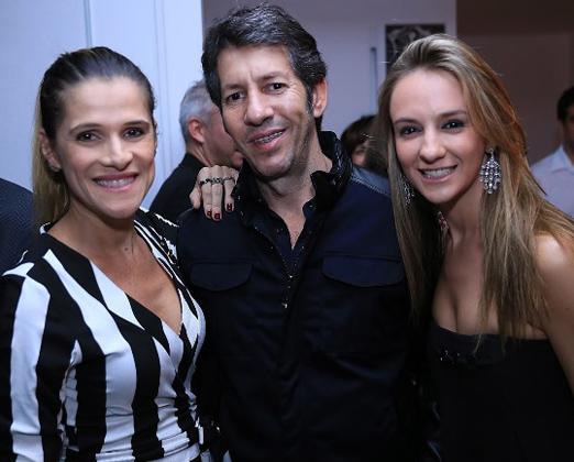 Ingrid Guimarães, Renê Machado e Larissa Gontijo