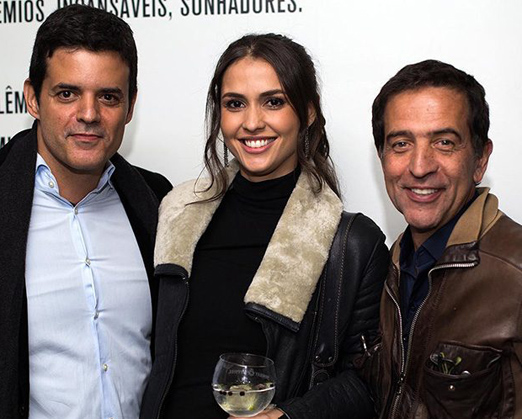 Jorge Pontual, Fernanda Nizzato e Ricardo Almeida