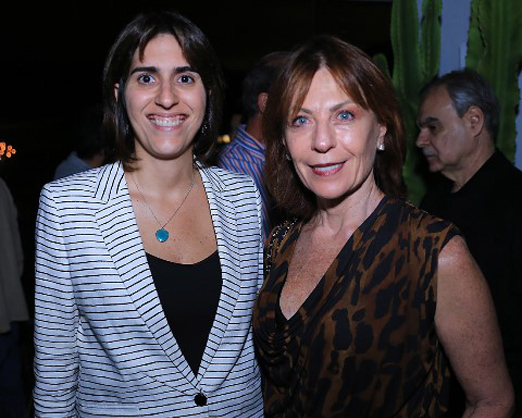 Juliana Cintra e Anita Schwartz