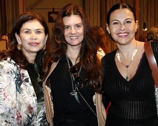 Lucia Lima, Manuela Noronha e Yara Figueiredo