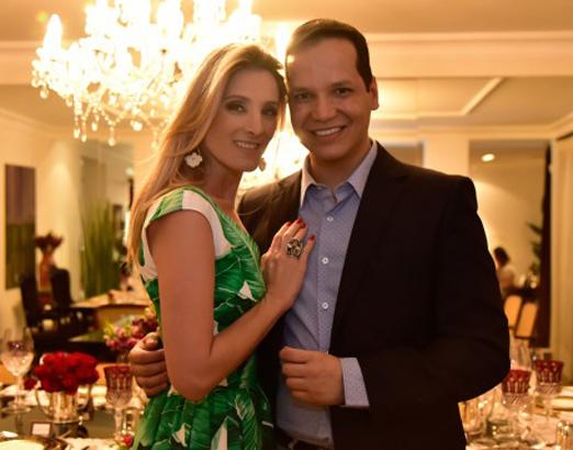 Mayra Perin e Marcelo Chaves