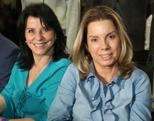 Mercia Lages e Tania Pereira