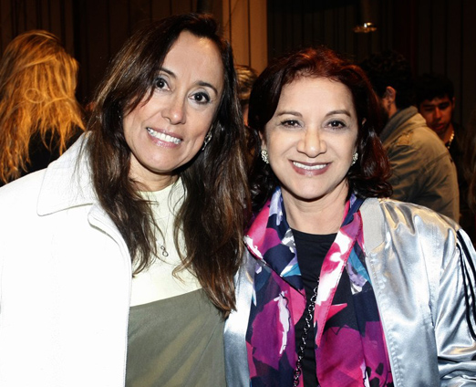 Miriane Santos e Suely Bombieri