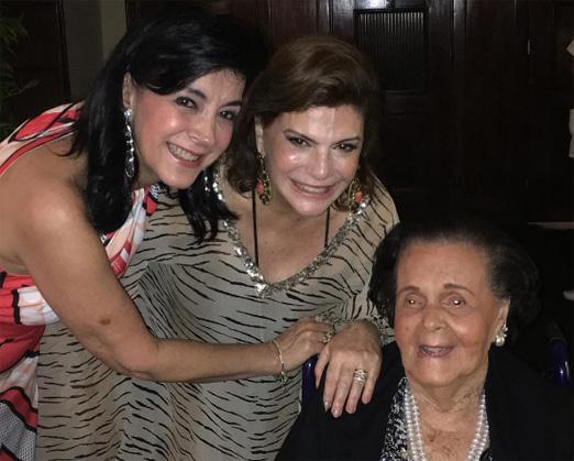 Monica Clark, Andrea Buffara Uchoa e Vera Rudge
