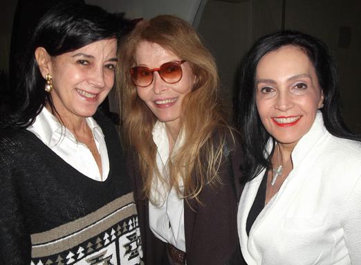 Monica Clark, Romy di Vitti e Liliana Rodriguez