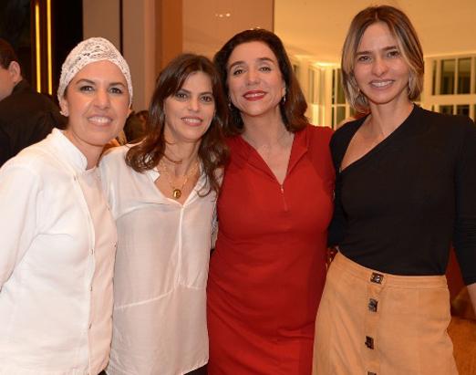 Morena Leite, Adriana Drigo, Marisa Orth e Zazá Piereck