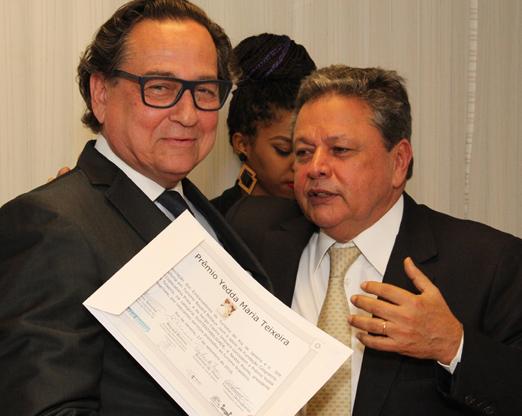 Nestor Rocha e Aloysito Teixeira