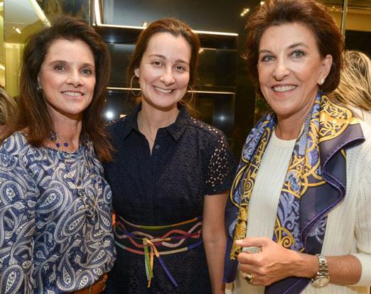 Patricia de Abreu Pereira, Eleonora Xandó e Cecilia Amorim de Souza