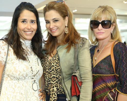 Paula Severiano Ribeiro com Cris e Gigi Senna