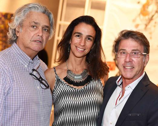 Pedro Paranaguá, Mabel Graham e Jairo de Sender