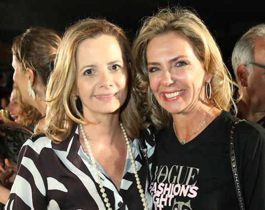 Priscila Bentes e Márcia Veríssimo
