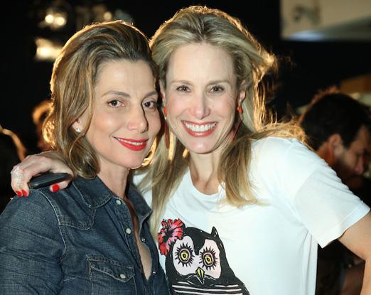 Renata Reis e Leticia Levy