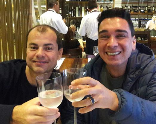 Renato Nordi e Hugo Oliveira