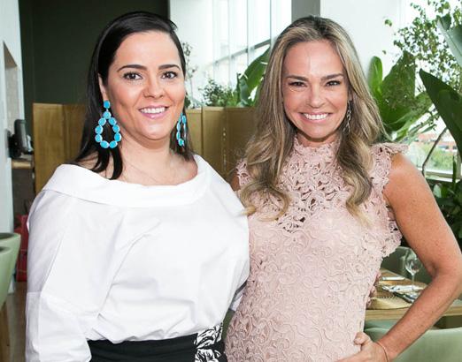 Simone Tostes e Carol Rajão