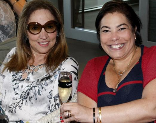 Sumaya Neves e Claudia Cury