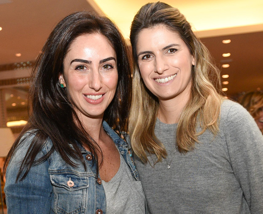 Talita Mansur e Renata Beyruti