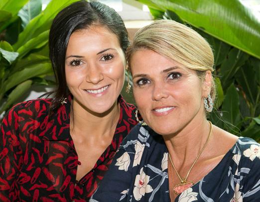 Tamara Lobo e Claudia Lobo