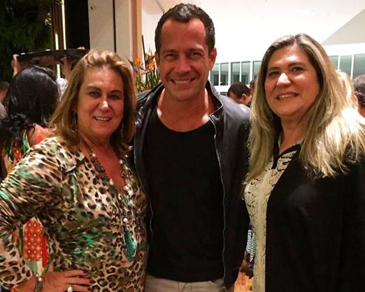 Theresa Macedo, Malvino Salvador e Marly Sampaio