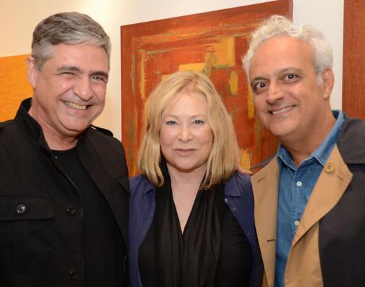 Toni Oliveira, Thera Regouin e Gustavo Rebello