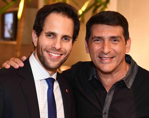 Tonny Molon e Mauricio Cacchione