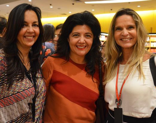 Acacia Lischewski, Ana Borelli e Sandra Molina Feuer