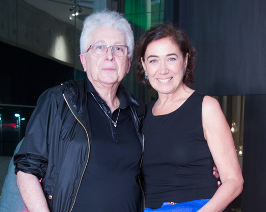 Aguinaldo Silva e Lilia Cabral