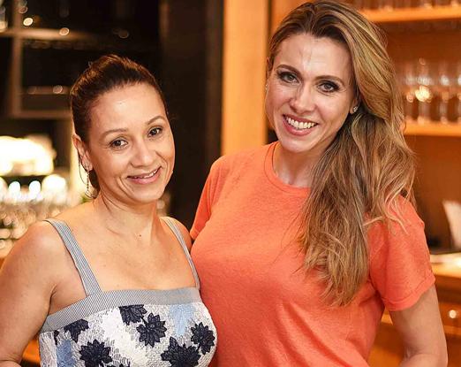 Alessandra Marins e Tatiana Fogaça
