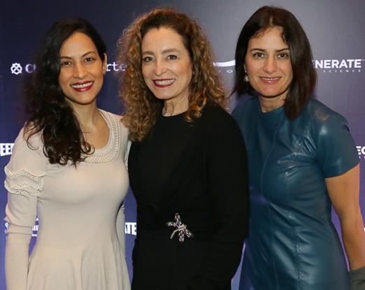 Aline Almeida Prado, Deborah Cattani e Renata Lunardelli