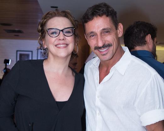 Ana Beatriz Nogueira e Tuca Andrada
