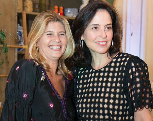 Ana Luiza Siqueira e Luciana Coelho