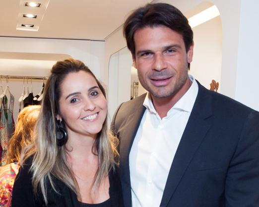 Antonia Tocantins e Henrique Baez