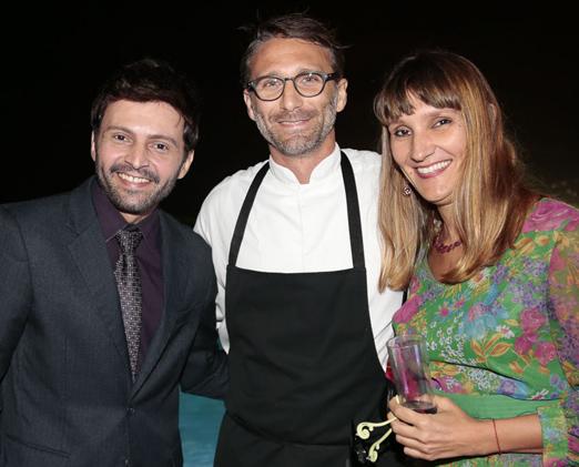 Antonio Guimarães, Paolo Lavezzini e Sara Passaglia