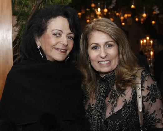 Carmen Nazar e Cristina Lips
