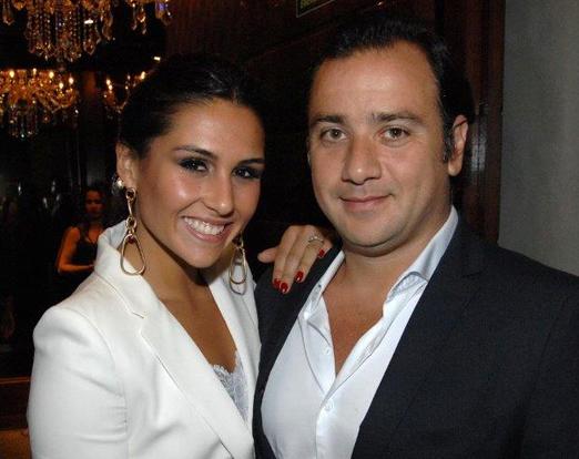 Carolina Rangel e Adriano Iódice