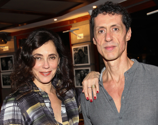 Christiane Torloni e Miguel Przewodowski