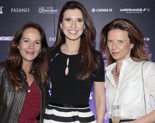 Claudia Carvalho, Constance Zahn e Ana Paula Gatti