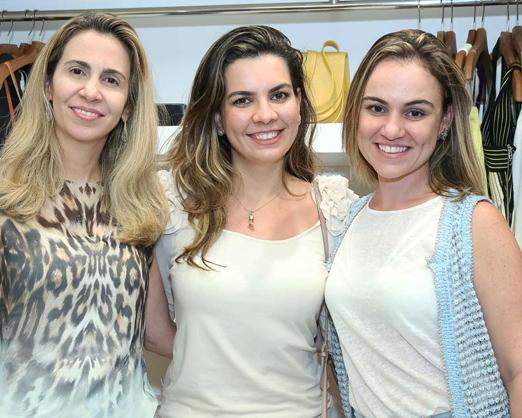Claudia Merlini, Gisele Borgac?o e Mariana Milone
