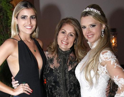 Dandynha Barbosa, Cristina Lips e Debora Matta
