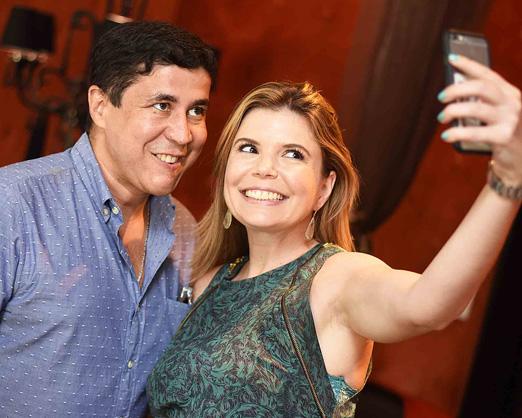 Diógenes Queiroz e Cristina Graneiro