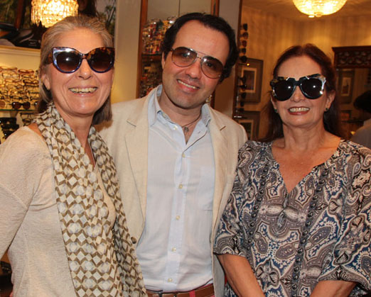 Dora Cortez, Gustavo Gonçalves e Sueli Stambowsky