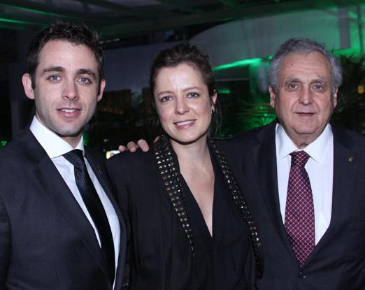 Fabrizio Guzzoni, Lucia Calasso e Aurelio Guzzoni