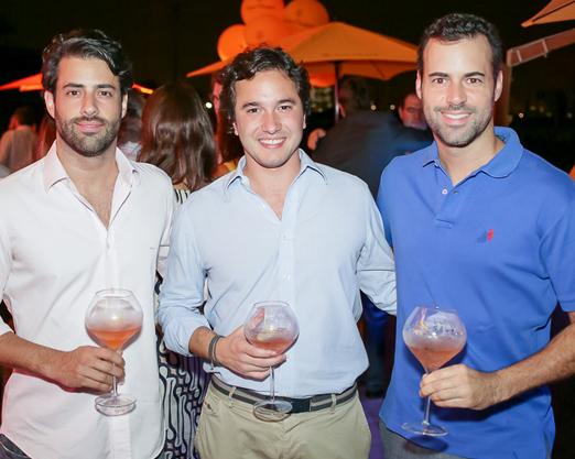 Felipe Scarpa, Raphael Vidigal e Eduardo Scarpa