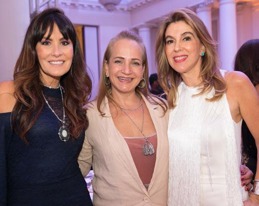 Fernanda Lynch, Patricia Chami e Bete Floris
