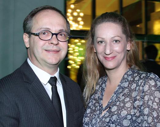 Francisco Mendes e Beth Santos
