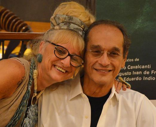 Gina Elimelek e Luiz Eduardo Indio da Costa