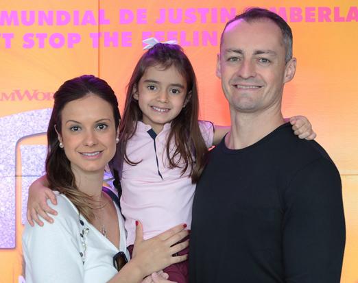 Giuliana Sesso, Isabel e João Marcos Oliveira
