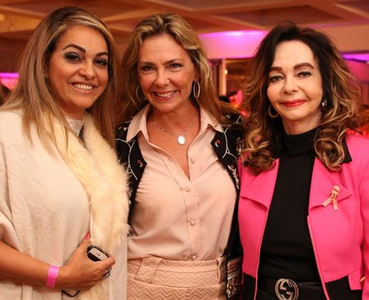 Gynna Melo, Márcia Veríssimo e Vera Loyola